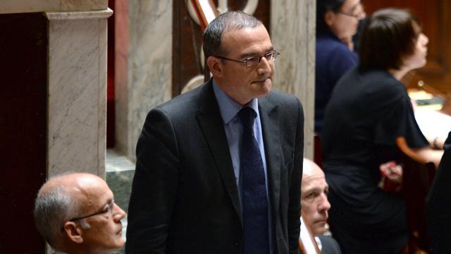Le député UMP Hervé Mariton, le 23 avril 2013 à Paris [Martin Bureau / AFP/Archives]