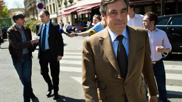 François Fillon le 24 avril 2013 à Paris [Martin Bureau / AFP/Archives]