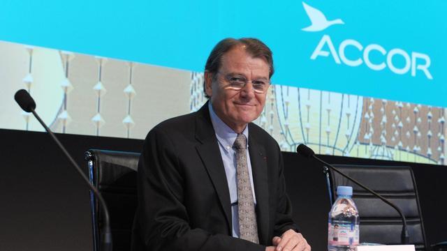 Yann Caillère, directeur général de transition du groupe Accor, le 25 avril 2013 à Paris [Eric Piermont / AFP/Archives]