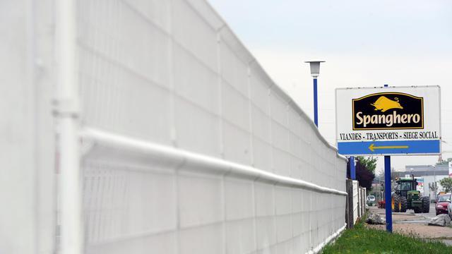 L'entrée de l'usine de Spanghero à Castelnaudary, le 26 avrom 2013 [Eric Cabanis / AFP/Archives]