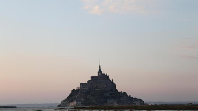 Vue du Mont-Saint-Michel [Charly Triballeau / AFP/Archives]