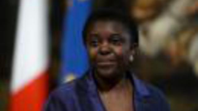 La ministre italienne de l'Intégration, Cécile Kyenge, le 28 avril 2013 à Rome [Filippo Monteforte / AFP/Archives]