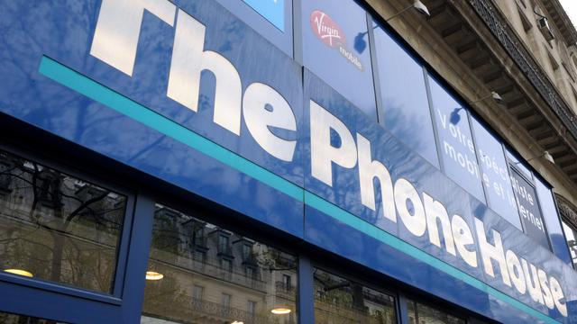 Une vitrine Phone House à Paris [Eric Piermont / AFP/Archives]