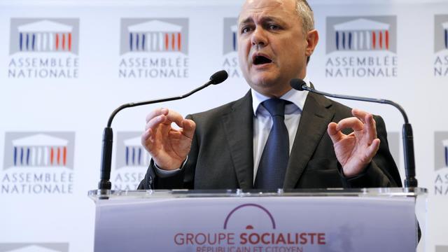 Le président du groupe PS à l'Assemblée nationale, Bruno Le Roux, le 30 avril 2013 à Paris [Francois Guillot / AFP/Archives]