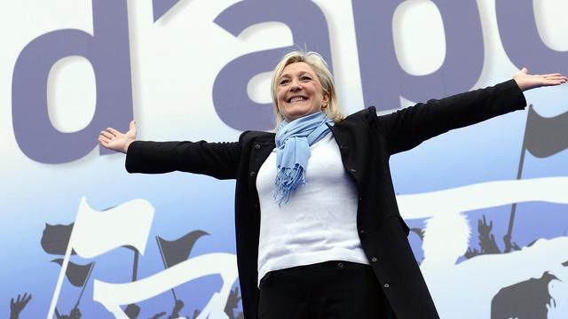 Marine Le Pen, le 1er mai 2013 à Paris [Eric Feferberg / AFP/Archives]