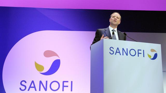 Le patron de Sanofi, Christopher Viehbacher, s'adresse à l'assemblée annuelle des actionnaires, le 3 mai 2013 à Paris [Eric Piermont / AFP/Archives]