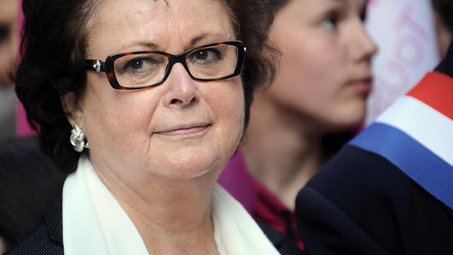 L'ex-ministre du Logement Christine Boutin, le 5 mai 2013 à Rennes [Jean-Sebastien Evrard / AFP/Archives]