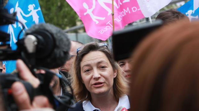 La présidente de La Manif pour tous, Ludovine de la Rochère, le 5 mai 2013 à Paris [Loic Venance / AFP/Archives]