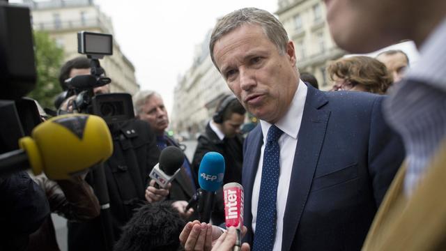 Le député Nicolas Dupont-Aignan, président de Debout la République, le 6 mai 2013 à Paris [Fred Dufour / AFP/Archives]