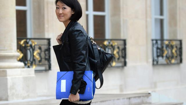 La ministre de l'Innovation et de l'Economie numérique, Fleur Pellerin, le 6 mai 2013 à Paris [Martin Bureau / AFP/Archives]