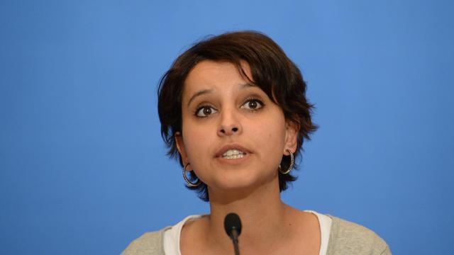 La porte-parole du gouvernement, Najat Vallaud-Belkacem, le 6 mai 2013 à Paris [Martin Bureau / AFP/Archives]