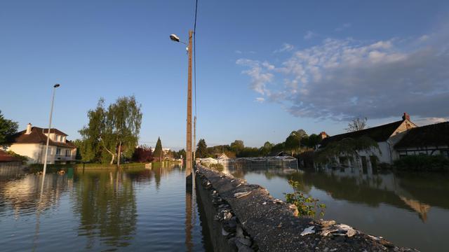La ville de Tonnerre dans l'Yonne, le 6 mai 2013 [Thomas Samson / AFP/Archives]