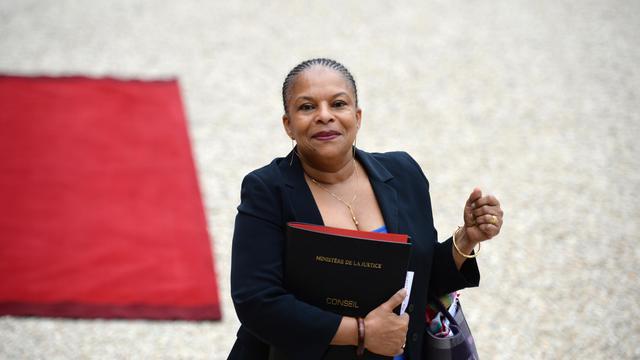 La ministre de la Justice Chrsitiane Taubira, le 7 mai 2013 à Paris [Martin Bureau / AFP/Archives]