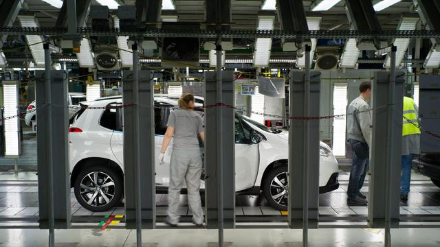 Une usine PSA à Mulhouse [Sebastien Bozon / AFP/Archives]