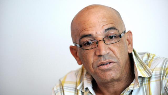 Abdelkader Azzimani chez lui à Lunel dans le sud de la France, le 22 juin 2012 [Sylvain Thomas / AFP/Archives]