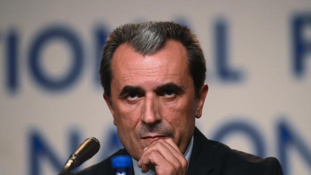 Plamen Orecharski, le 12 mai 2013 lors d'une conférence de presse à Sofia [Dimitar Dilkoff / AFP/Archives]