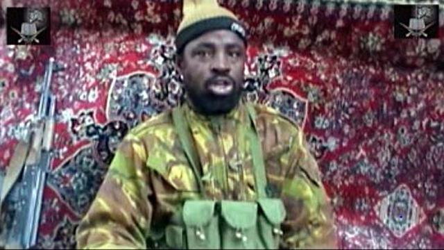 Capture d'écran d'une vidéo parvenue le 13 mai 2013 à l'AFP dans laquelle le chef présumé de Boko Haram Abubakar Shekau revendique des attaques [ / Boko Haram/AFP]