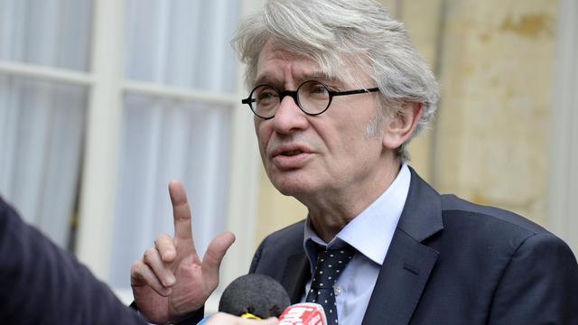 Le secrétaire général de Force ouvrière , Jean-Claude Mailly, le 13 mai 2013 à Paris [Bertrand Guay / AFP/Archives]
