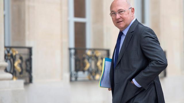 Le ministre du Travail, Michel Sapin, le 14 mai 2013 à Paris [Bertrand Langlois / AFP/Archives]