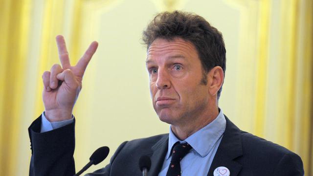 Geoffroy Roux de Bézieux, le 14 mai 2013 à Paris [Eric Piermont / AFP/Archives]