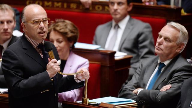 Bernard Cazeneuve le 14 mai 2013 à l'Assemblée nationale à Paris [Eric Feferberg / AFP/Archives]