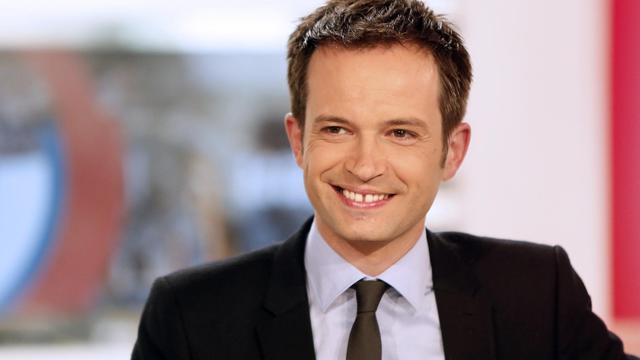 Pierre-Yves Bournazel, candidat à la primaire UMP pour la mairie de Paris, le 14 mai 2013 sur le plateau de LCI [Kenzo Tribouillard / AFP/Archives]