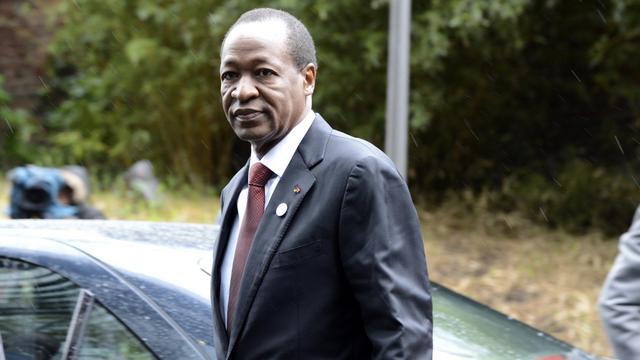 Le président du Burkina Faso, Blaise Compaoré à Bruxelles, le 15 mai 2013 [Thierry Charlier / AFP/Archives]