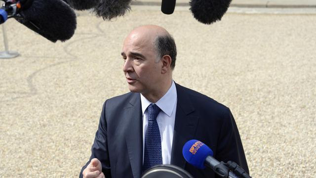 Le ministre de l'Economie, Pierre Moscovici, à Paris, le 15 mai 2013 [Bertrand Guay / AFP/Archives]