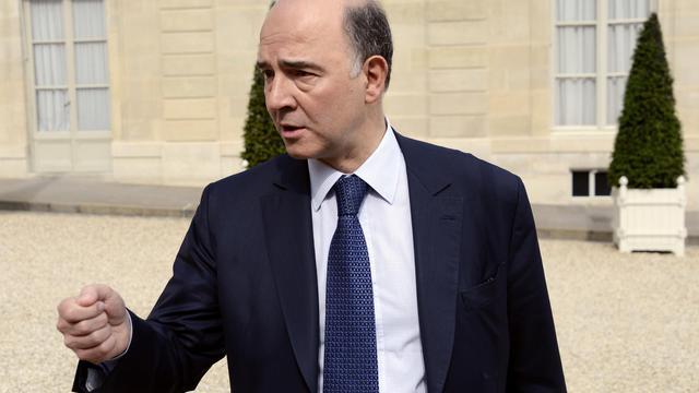 Le ministre de l'Economie et des Finances, Pierre Moscovici, le 15 mai 2013 à Paris [Bertrand Guay / AFP/Archives]