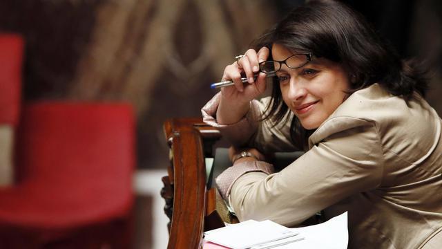 Cécile Duflot, ministre du Logement, le 15 mai 2013 à Paris [Patrick Kovarik / AFP/Archives]