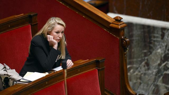 Marion Maréchal-Le Pen, députée FN du Vaucluse, le 16 mai 2013 à l'Assemblée nationale à Paris [Fred Dufour / AFP/Archives]