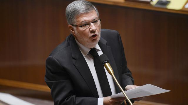 Le ministre des relations avec le Parlement, Alain Vidalies, le 16 mai 2013 à l'Assemblée nationale à Paris [Fred Dufour / AFP/Archives]
