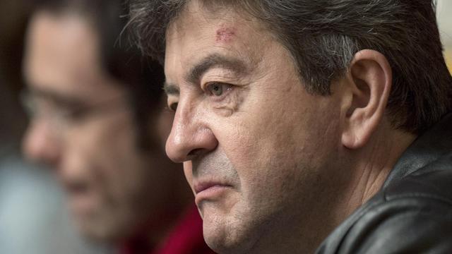 Le co-président du Parti de gauche (PG) Jean-Luc Mélenchon, le 16 mai 2013 à Paris [Fred Dufour / AFP/Archives]