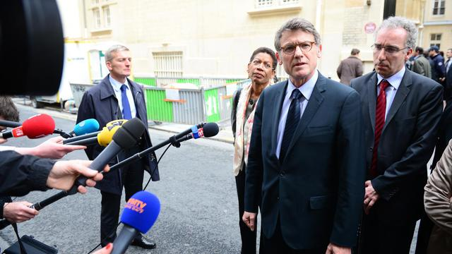 Le ministre de l'Education nationale, Vincent Peillon, le 16 mai 2013 à Paris [Martin Bureau / AFP/Archives]