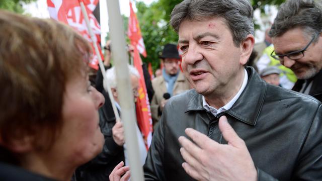 Jean-Luc Mélenchon le 16 mai 2013 à Paris [Eric Feferberg / AFP]