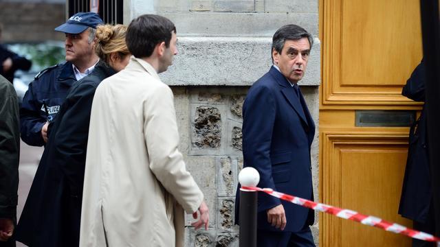 L'ex-Premier ministre François Fillon, le 16 mai 2013, à Paris [Martin Bureau / AFP]