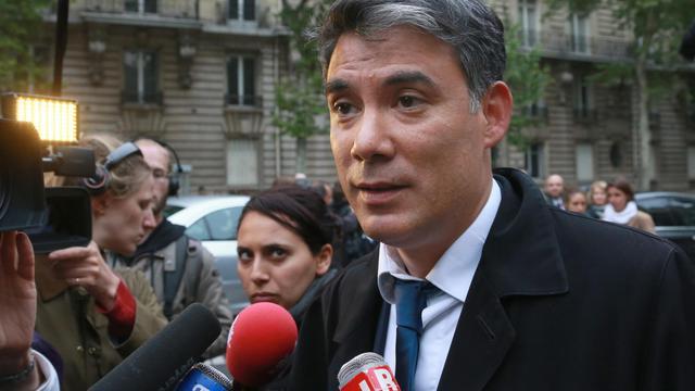 Le député PS Olivier Faure à Paris [Pierre Verdy / AFP/Archives]