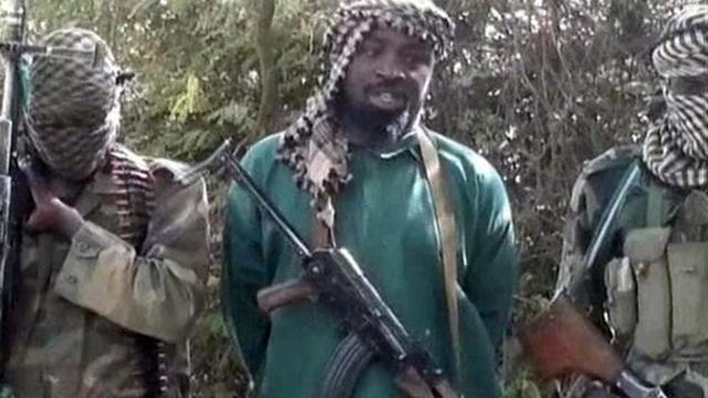 Capture d'écran fournie aux médias par un intermédiaire de Boko Haram, le 5 mars 2013, montrant Abubakar Shekau [ / YouTube/Boko Haram/AFP]