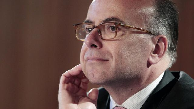 Le ministre délégué au Budget Bernard Cazeneuve, le 22 mai 2013 à Caen [Charly Triballeau / Pool/AFP/Archives]