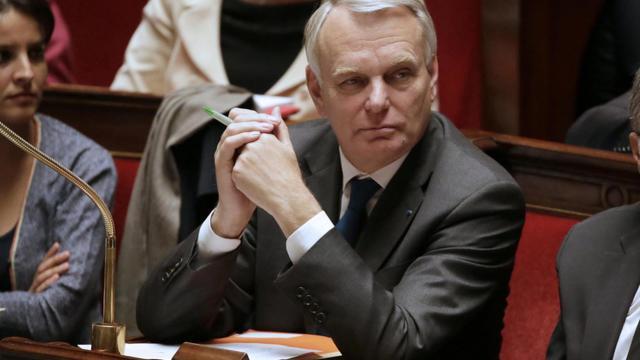 Le Premier ministre, Jean-Marc Ayrault, le 21 mai 2013 à l'Assemblée nationale, à Paris