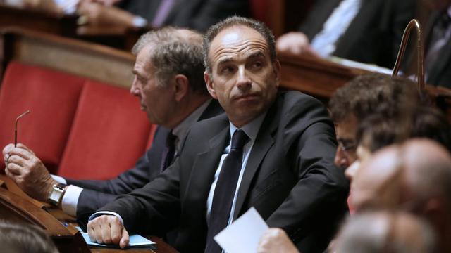 Jean-François Copé, président de l'UMP, le 21 mai 2013 à l'Assemblée nationale [Kenzo Tribouillard / AFP/Archives]