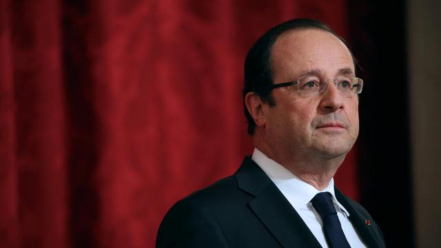 François Hollande, le 21 mai 2013 au Palais de l'Elysée [Thomas Samson / AFP/Archives]