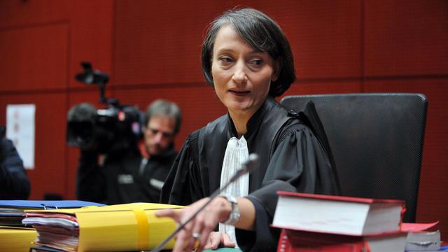 L'avocate générale Florence Lecoq lors du procès contre Tony Meilhon, le 22 mai 2013 à Nantes [Frank Perry / AFP/Archives]