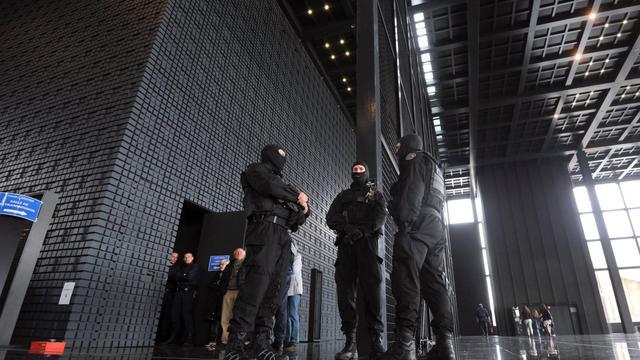 Des membres des forces spéciales, le 22 mai 2013 à la cour d'assises de Nantes [Frank Perry / AFP]