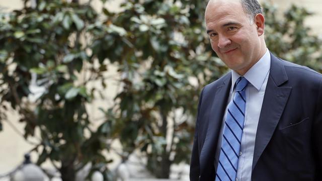 Pierre Moscovici à son arrivée à Matignon, le 22 mai 2013 [Kenzo Tribouillard / AFP]