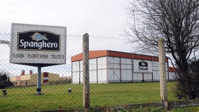 Une vue de l'entreprise Spanghero, à Castelnaudary dans l'Aude [Remy Gabalda / AFP/Archives]