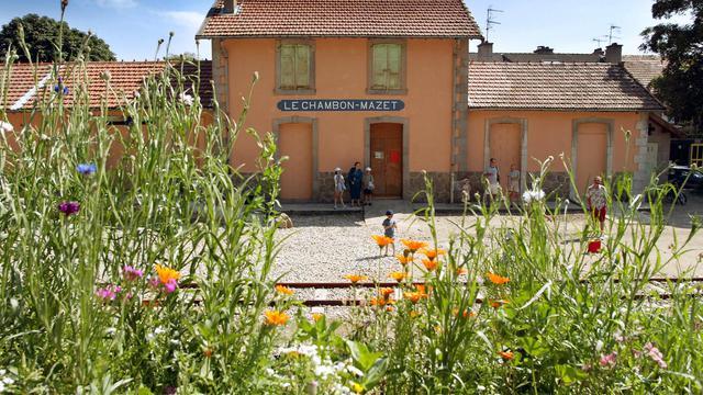 La gare du Chambon-sur-Lignon, le 23 juillet 2002 [Jean-Philippe Ksiazek / AFP/Archives]