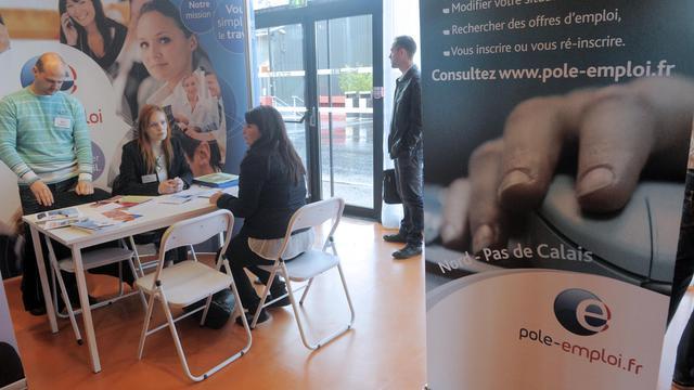 Un salon pour l'emploi, le 23 mai 2013 à Valenciennes [Francois Lo Presti / AFP/Archives]