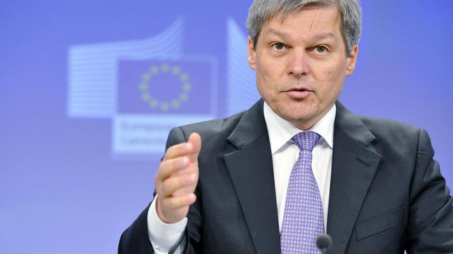 Le commissaire européen à l'Agriculture, Dacian Ciolos, le 23 mai 2013 à Bruxelles [Georges Gobet / AFP/Archives]