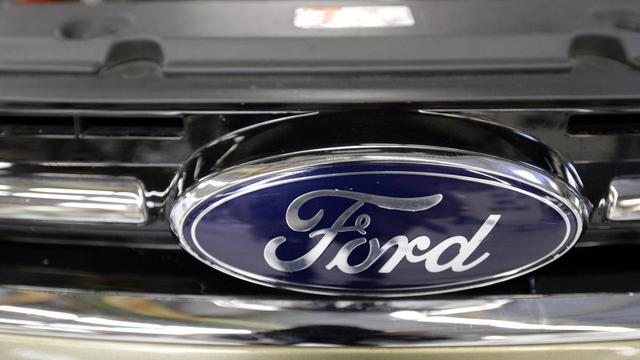 Le logo Ford [Jean-Pierre Muller / AFP/Archives]